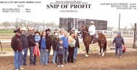 Miles City Win 2011- Snip Of Profit